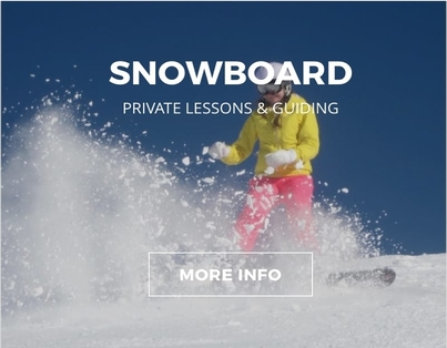 Snowboard Private Lessons & Guiding