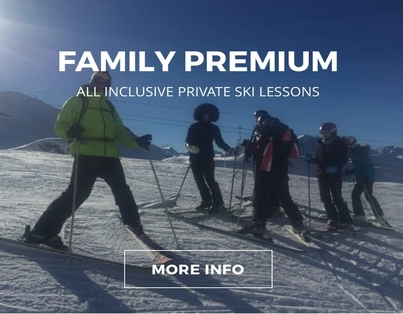 Family Private Ski Lessons - Val d'Isère